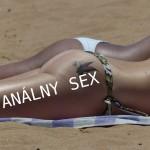 análny sex na pláži