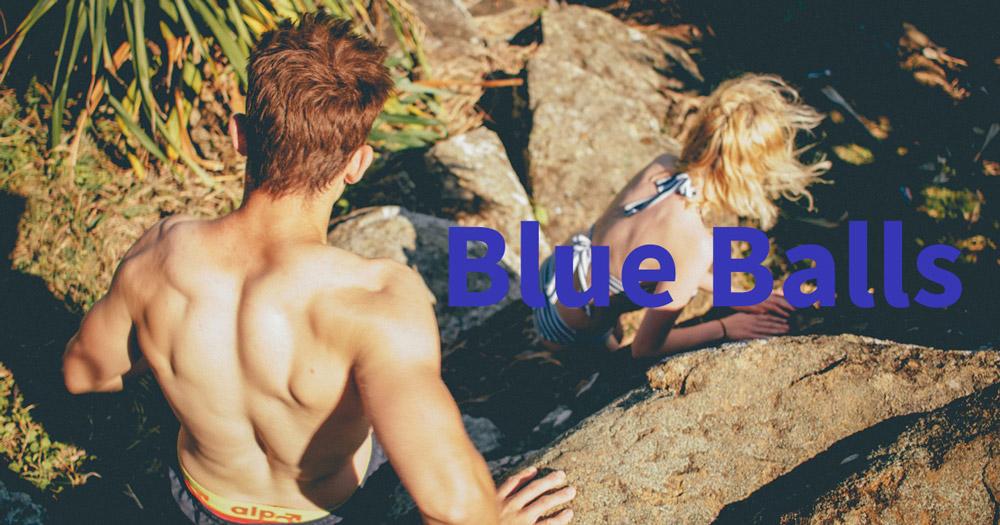 Blue Balls boľavé semenníky