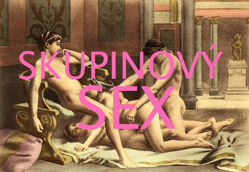 Skupinový sex - obraz